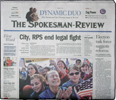 Spokane Spokesman Review